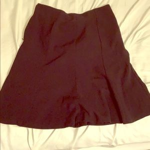 Ann Taylor factory navy skirt